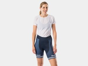 Short Santini Trek-Segafredo Replica Women M Dark Blue/White
